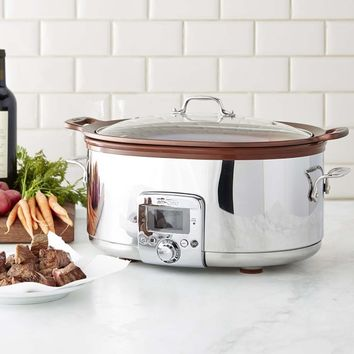 All-Clad Gourmet Slow Cooker with All-In One Browning