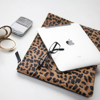 Leopard Large Clutch