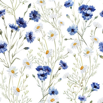 Daisy Delight Removable Wallpaper