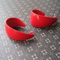 Red Vintage Earrings