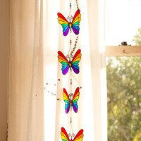 Rainbow Butterflies Suncatcher
