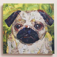 """Pug"" by Sandy Doonan"