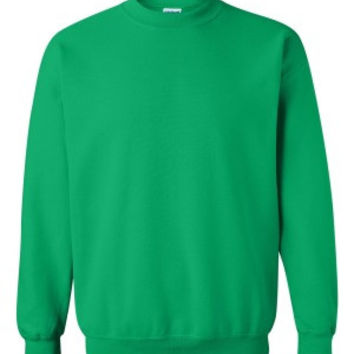 Gildan 18000 Heavy Blend™ Crewneck Sweatshirt (Irish Green / M)