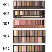NAKED 1 2 3 4 5 Palette Eye Shadow with Brush