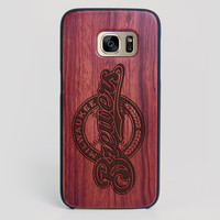 Milwaukee Brewers Galaxy S7 Edge Case - All Wood Everything