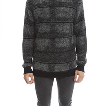 Public School Plaid Pullover
