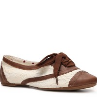 Shop  Not Rated Brandy Lace Oxford Flat