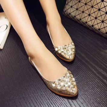 2017 spring and autumn new shallow mouth water jelly egg rolls flat with low to help female pizza pregnant women single shoes