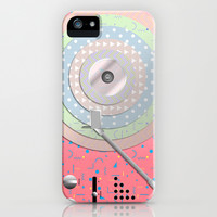 Vinyl-Turntable iPhone & iPod Case by dogooder