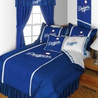 Los Angeles Dodgers 5 Piece Twin Bedding Set, Comforter Sheets Sham, New Mlb Baseball LA Dodgers Boys