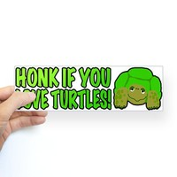 Honk If You Love Turtles! on CafePress.com