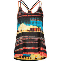 FULL TILT Tie Dye Double Strap Womens Top 195079957 | tops | Tillys.com
