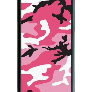 pink camo iphone 6 7 8 case  number 1