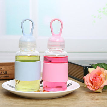 Drinks Coffee Cute Hot Deal On Sale Lovely Innovative Glass Portable Couple Cup [8070717063]