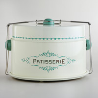 Cream Patisserie Cake Carrier - World Market