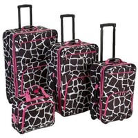 Rockland Luggage Four-Piece Luggage Set