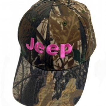 Jeep Pink Camo Hat | Hats & Caps | Jeep Apparel | My Jeep Accessories