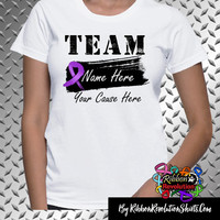 Personalize Team Name Shirts for Lupus, Cystic Fibrosis, Crohns Disease, Epilepsy, ITP, Pancreatic Cancer, Sarcoidosis and More