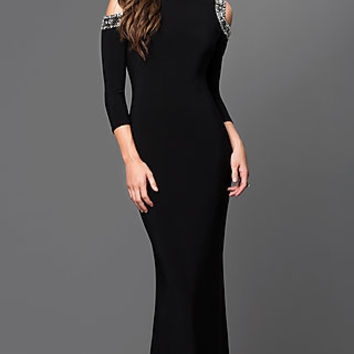 Long Sleeve Gowns, Cocktail Dresses with Sleeves