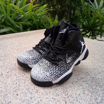 Best Deal Online Nike Air Jordan 31 XXXI Black White Kid Basketball Shoes for Youth Boys and Child