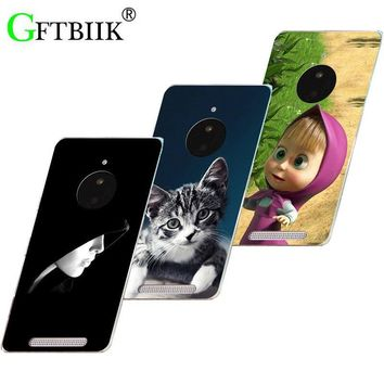 Hot Ultra Thin Back Cover For Nokia Lumia 830 Protective Phone Case Horse Dog Cat Handsome Tiger Fruits Cases