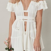 LITTLE ROSETTE ROBE