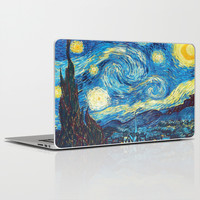 Starry,night,best,art,by,vincent,van,gogh, Laptop & iPad Skin by Giftstore2u