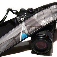 Gray Camera Strap. dSLR Camera Strap. Photo Camera Accessories.