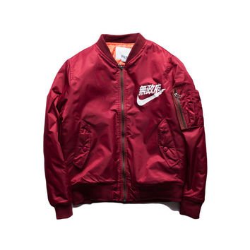 Men's Anarchy Big Sam Kanye West Yeezus Tour MA1 Japanese Merch Bomber Flight Pilot Jacket