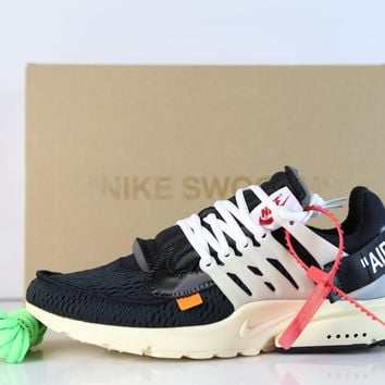 BC SPBEST Nike X Off-White c/o Virgil Abloh Air Presto Virgil AA3830-001 (NO Codes)