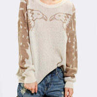 Urban Outfitters - Coincidence & Chance Animal Pullover Sweater