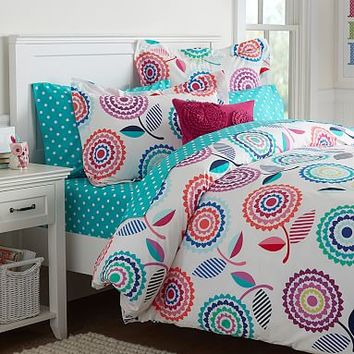 Lollipop Bouquet Duvet Cover + Sham