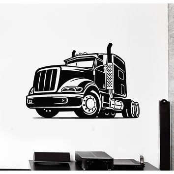Vinyl Wall Decal Truck Garage Car Boys Room Vehicle Machine Stickers Mural (g711)