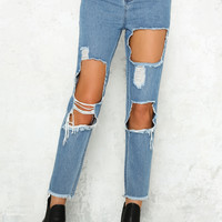 Cooler Conversations Jeans Dark Denim