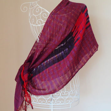 Authentic Turkish Traditional Cotton Scarf,Shaw,Pashmina,Peshtemal.
