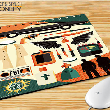 Supernatural Collage Mousepad Mouse Pad|iPhonefy