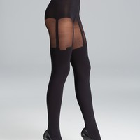 Pretty Polly House of Holland Super Suspender Tights | Bloomingdale's
