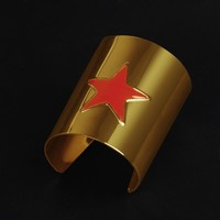 Wonder Woman Superman Wars Batman Movie cosplay Wonder Woman Metal Bracelet halloween accessory props wristband