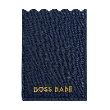 Boss Babe Phone Pocket in Blue