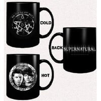 Supernatural Just Begun Disappearing Mug