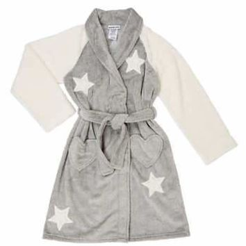 Komar Kids' Plush Robe, Stars. FREE SHIPPING PLUS 50% 0ff
