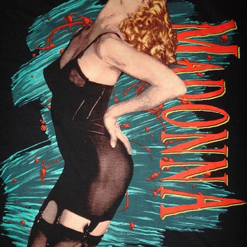 15% OFF Sale Rare MADONNA Blond Ambition 1990 Tour Concert T Shirt Unworn