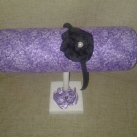 Boutique Headband designs Purple designs Craft show display, girls gift holder organizer child boutique display