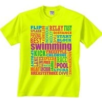 Swim Words T-shirt