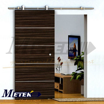 Stainless Steel Barn Wood Sliding Door System