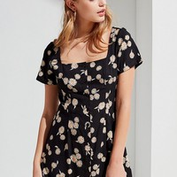 Motel Daisy Button-Down Mini Dress | Urban Outfitters