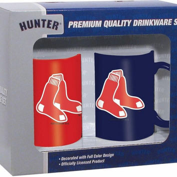 Hunter 2 Pack Coffee Mug - Boston Red Sox