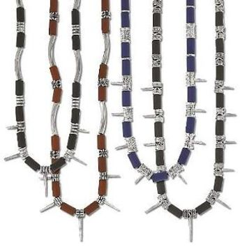 New Industrial Tribal Spike Necklaces