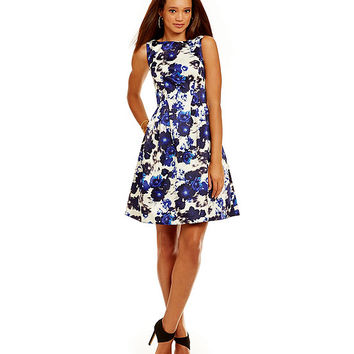 Vince Camuto Floral Dress | Dillards