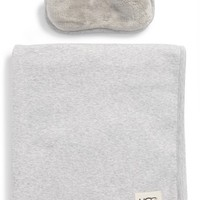 UGG® Duffield Eye Mask, Pouch & Blanket Travel Set | Nordstrom